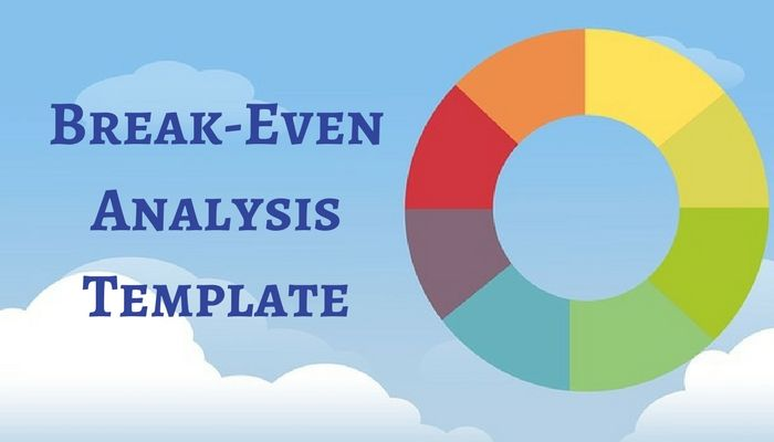 Download Break-Even Analysis Excel Template Financial Analysis - breakeven template