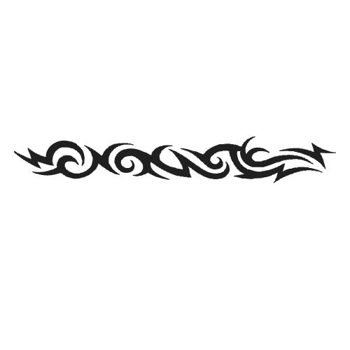 Download Free Pics Photos   Tribal Armband Tattoo Design to use and take to your artist.