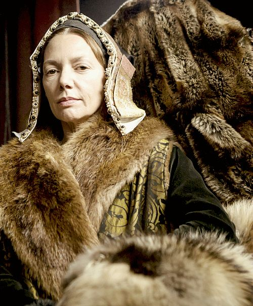 Joanne Whalley as Catherine of Aragon in Wolf Hall. Jan 2015. BBC