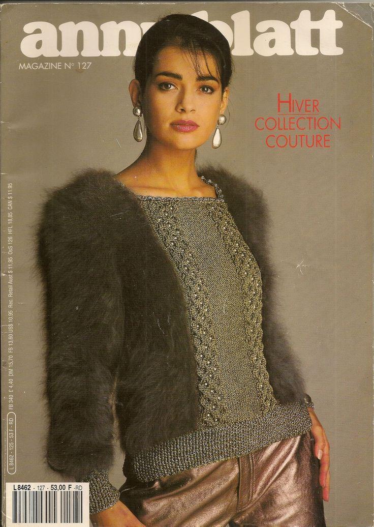 MAGAZINE ANNY BLATT N°127 tricot Collection COUTURE : Autres Tricot et Crochet par les-bricoles-de-mamie-martine