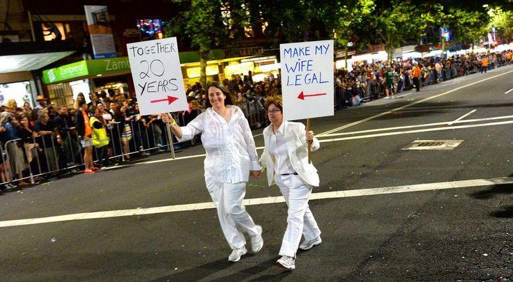 En Australie, une campagne électorale très gay.