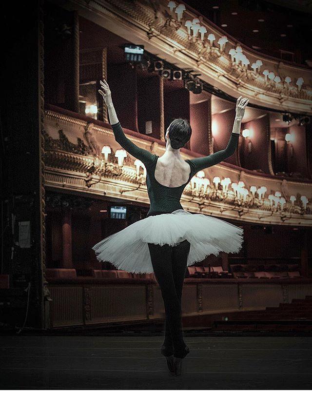 Polina Semionova in Giselle at Mikhailovsky Theatre. Photo