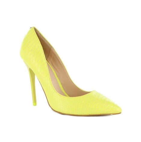 Kardashian Kollection Alivia style at Wanted Shoes.  Alivia by Kardashian Kollection is a fresh printed stiletto pump. This style features a pointed toe and gives the classic style a twist with the bright uppers.