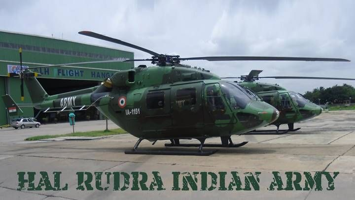 """WHAT'S IN A NAME? """"RUDRA"""" – INDIAN ARMY ATTACK HELICOPTER – Bhavanajagat"""