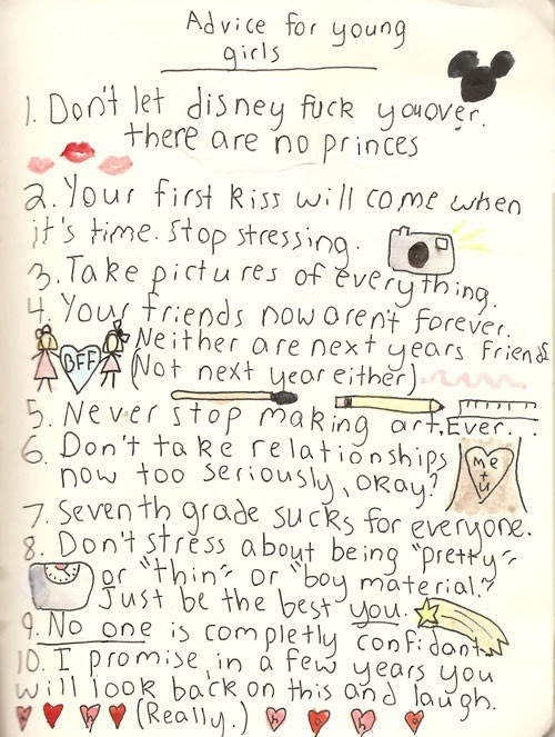 Good Advice from an Unknown Person disney