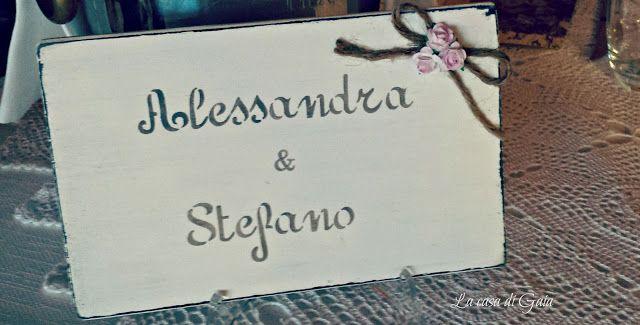 La casa di Gaia: Il matrimonio di Alessandra&Stefano