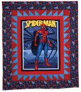 82 best Spiderman Quilts images on Pinterest   Spiderman, Curves ... : spiderman quilt - Adamdwight.com