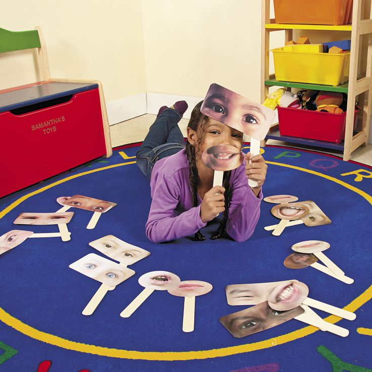 """""""Dramatic play contributes to intellectual development of children.  Using these fun masks also help children recognize different emotions.   I believe this product aids students with role-playing and incorporates the ability to problem solve based on human emotions."""" - Amy, Education Product Development Specialist for Oriental Trading Company"""