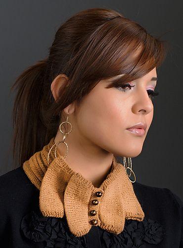 Golden Fleece: Vicuna Collar by Olga Pobedinskaya