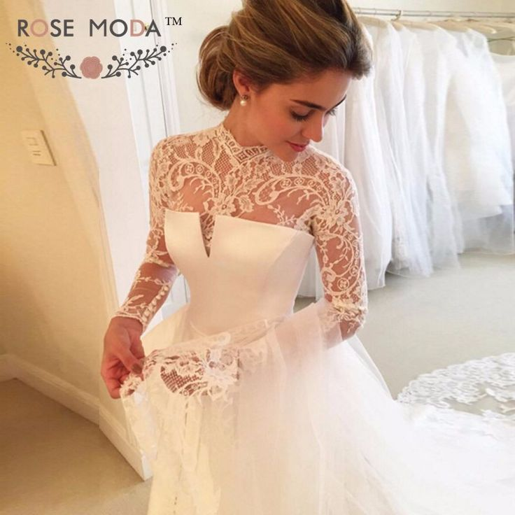 Item Type: Wedding Dresses Waistline: Princess is_customized: Yes Brand Name: Ro…
