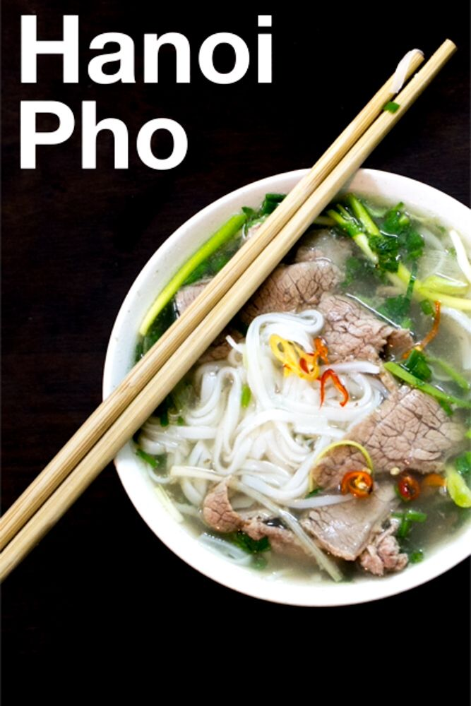 Pho was invented in Hanoi, so it's no surprise that Hanoi pho is the best pho in the world.