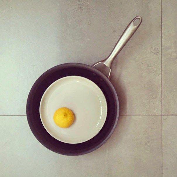 Amedeo Liberatoscioli: Dudi Ben Simon Dudi Ben Simon, direttore creativo a Tel Aviv, crea divertenti illusioni ottiche con la fusione di due oggetti non correlati in un unico pezzo visivamente riconoscibile.