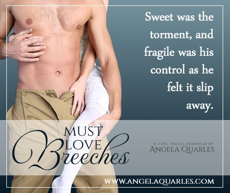 Must Love Breeches, a time travel romance