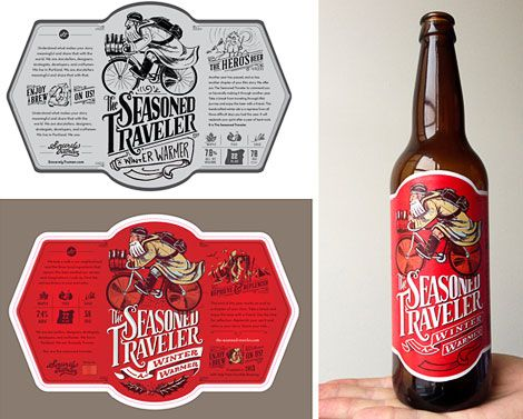Seasoned Traveler Beer Labels