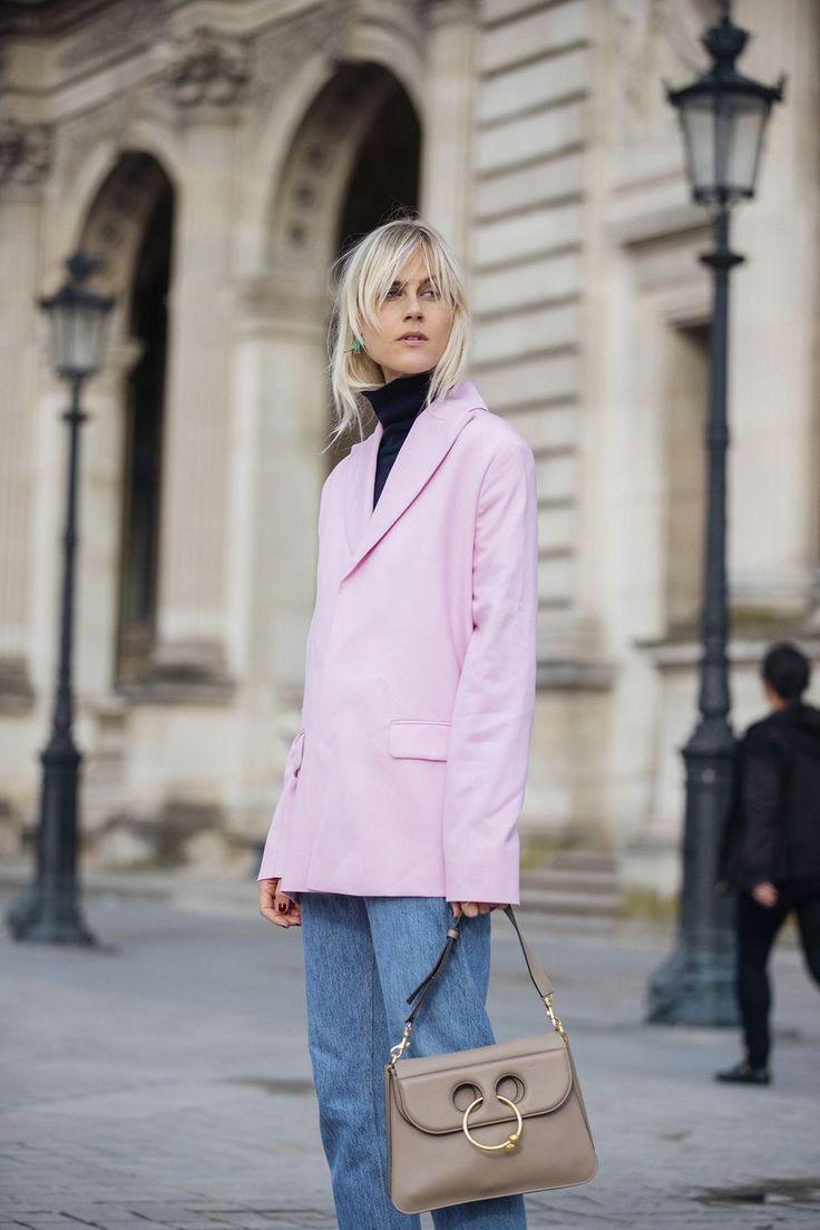 How To Wear An Oversized Blazer Like A Street-Style Star | British Vogue
