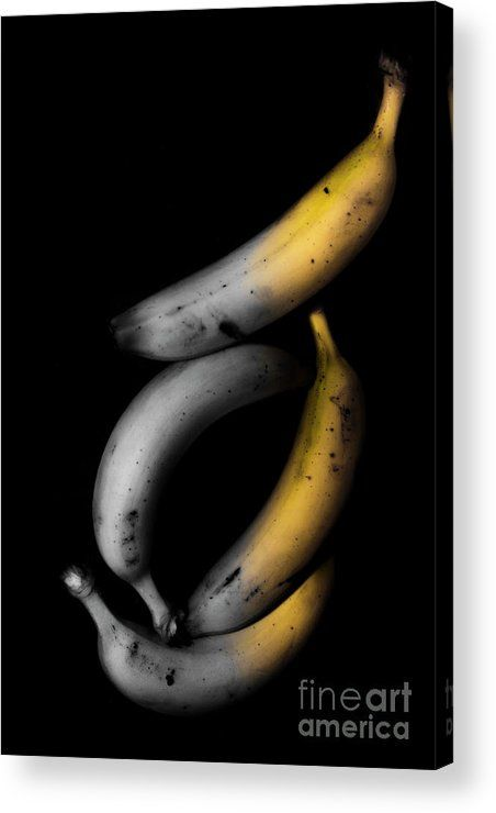 Fruit Acrylic Print featuring the photograph Banana Split by Jorgo Photography - Wall Art Gallery