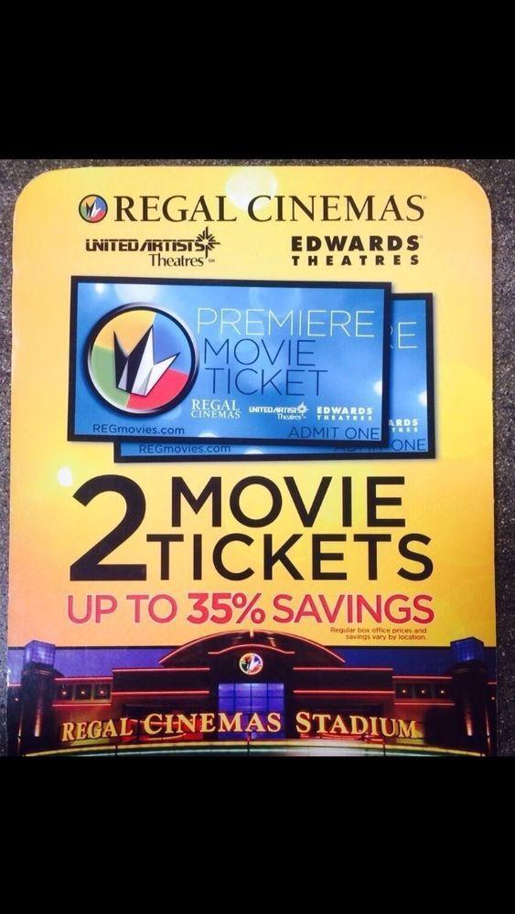 "REGAL CINEMAS MOVIE TICKETS - DISNEYLAND M4L PIN ""STARBUCKS FREE""- DISNEY DOLLAR -- EXCELLENT DEAL ON ""MOVIE TICKETS and MORE"" !!"