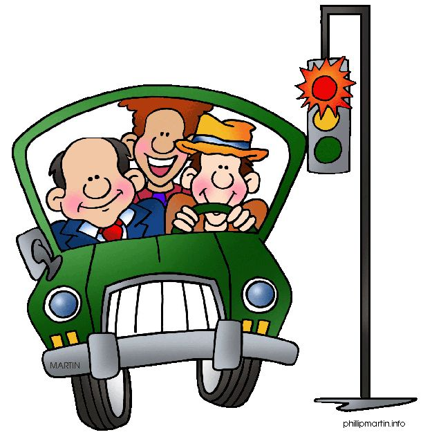 clipart car driving on road - photo #26