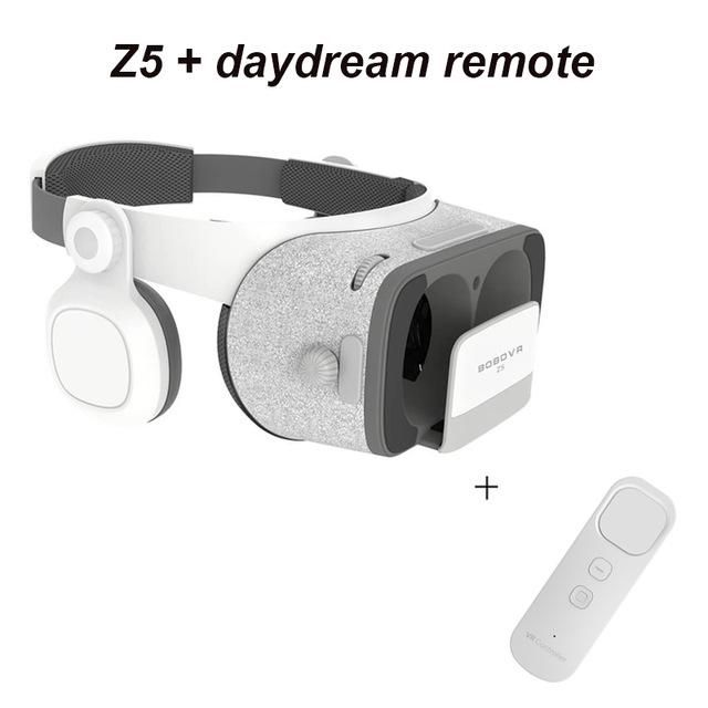 Original bobovr Z5/bobo vr Z5 Virtual Reality goggles 120 FOV 3D Glasses google cardboard with Headset Stereo Box For smartphone