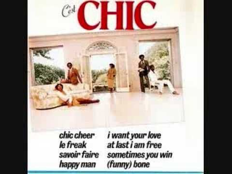 Le Freak by CHIC was one of my favorites. reminds me of my sister-RIP and the clubs ENJOY
