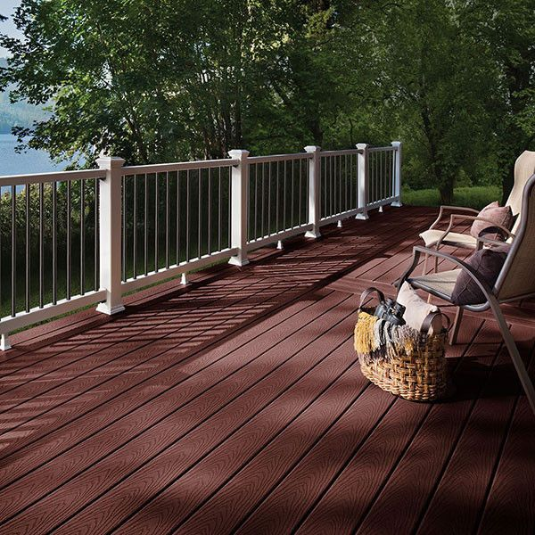 Trex Select Deck Boards Outdoor Flooring Options Building A Deck Vinyl Deck
