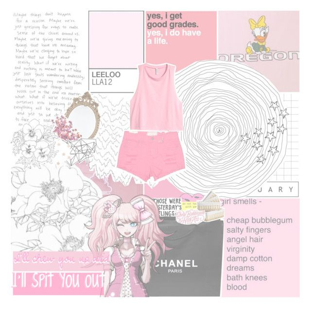 """""""- Hit me with your sweet love, steal me with a kiss"""" by stxnding-in-v-formation ❤ liked on Polyvore featuring Chanel, Marks & Spencer, H&M, Altar'd State and Color Me"""