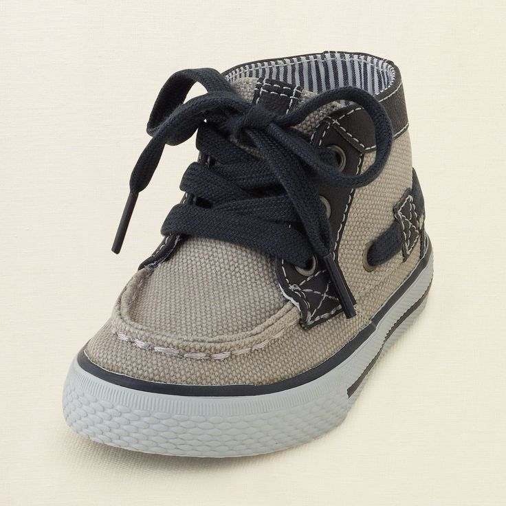 baby boy - mid-top boat sneaker | Children's Clothing | Kids Clothes | The Children's Place