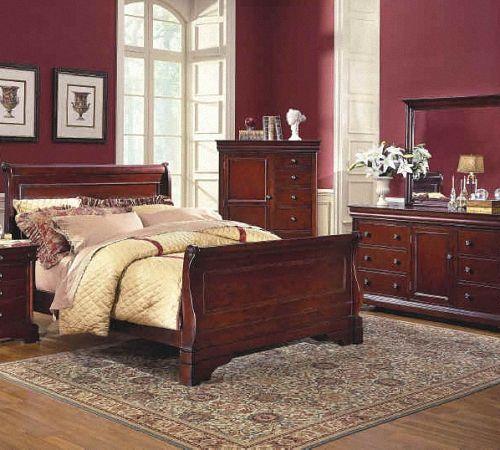 Бордовая спальня: дизайн интерьера, рекомендации по оформлению   Строительный портал
