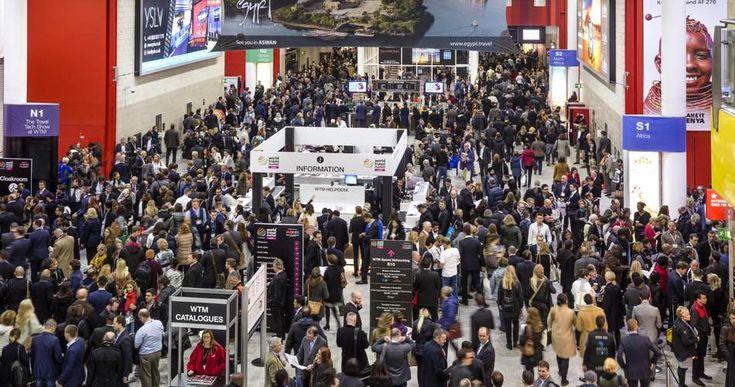 World Travel Market 2015, ExCeL, London. The Boulevard