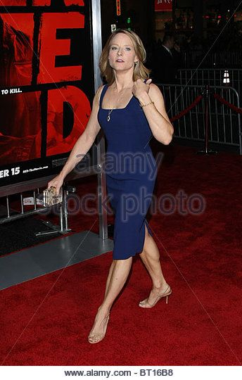 Джоди Фостер красный Лос-Анджелес специальный показ голливудского Лос-Анджелеса, штат Невада США 11 октября 2010 года - стоковое изображение