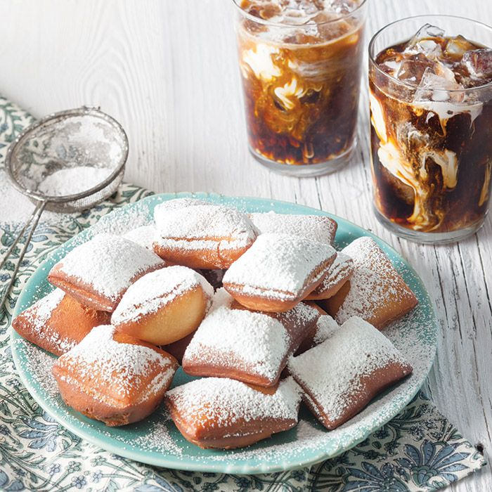 A New Orleans brunch wouldn't be complete without these light and fluffy vanilla beignets.