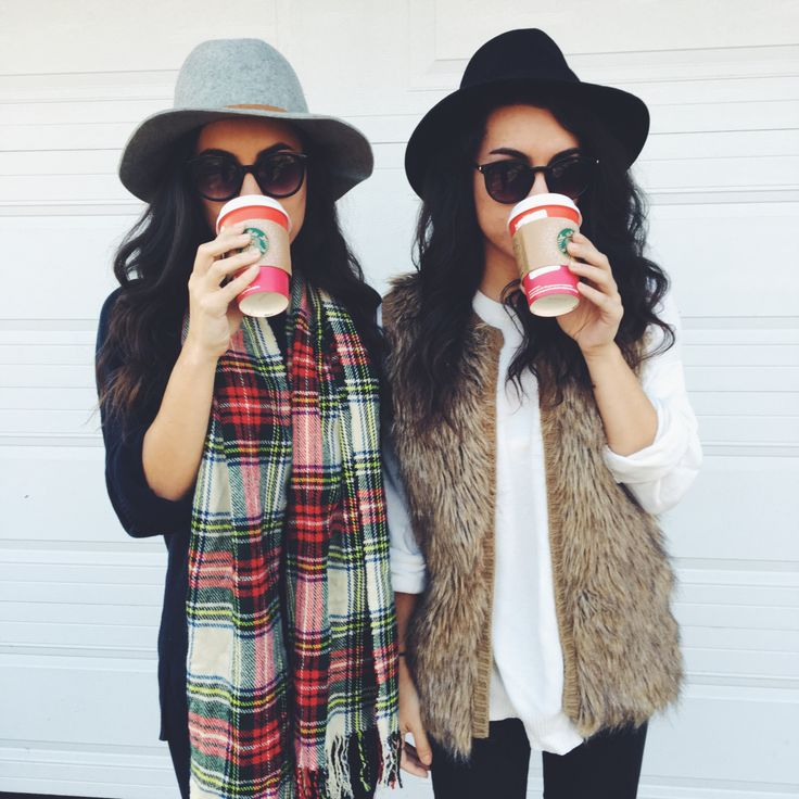 """thetwotonedlook: """" Unpopular Opinion: we actually enjoy the red cups #twinning """""""