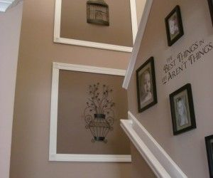 Interior Design Awesome Wall Decorations Staircase With Pics And Frame Design Ideas Wall