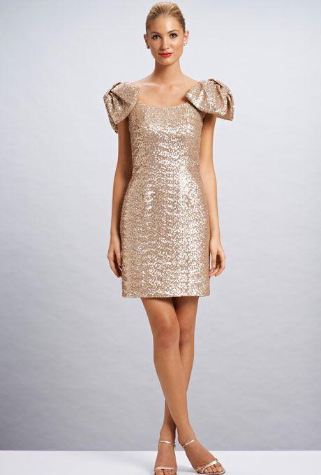 Brides: Metallic Bridesmaid Dresses | Arabella Sequin Dress | Photo credit: Kirribilla