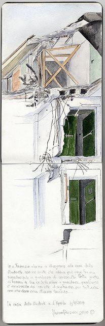 Casa dello studente - L'Aquila | Flickr - Photo Sharing! Marco Preziosi