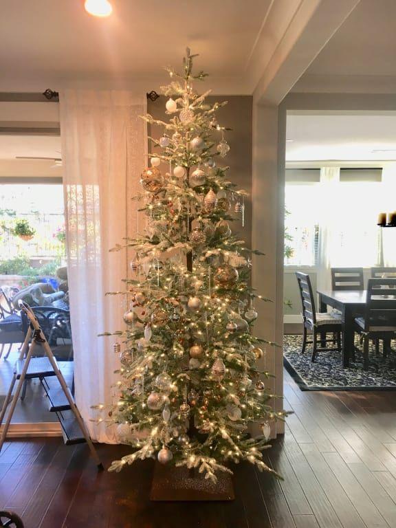 Frosted Alpine Balsam Fir Artificial Christmas Tree Balsam Hill Artifical Christmas Tree Balsam Hill Christmas Tree Alpine Christmas Tree