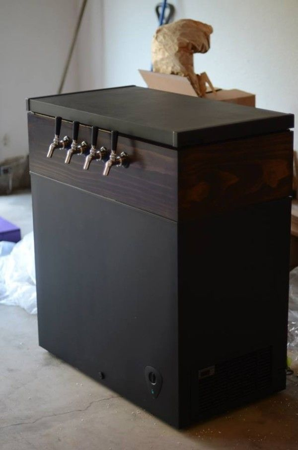 The Man's DIY (And A Good Excuse to Build a Keezer)   The Budget Savvy Bride