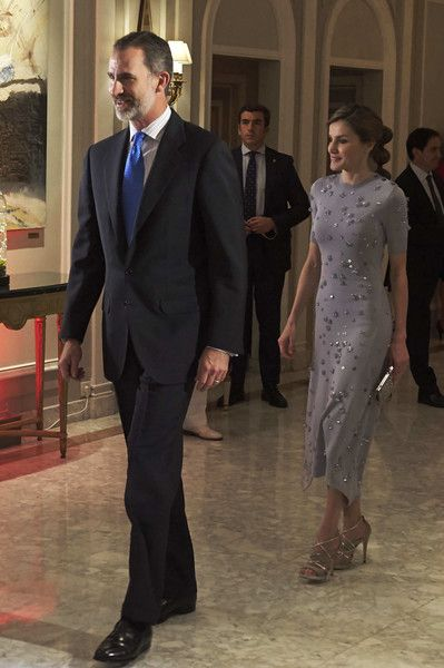 Queen Letizia of Spain Photos Photos - King Felipe VI of Spain and Queen Letizia of Spain attend the Europa Press news agency 60th Anniversary at the Villa Magna hotel on May 30, 2017 in Madrid, Spain. - Spanish Royals Attend 60th Anniversary of Europa Press Agency