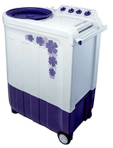 2.Whirlpool Turbo Dry Semi-automatic Top-loading Washing Machine (Floral Purple) @ 17% Off