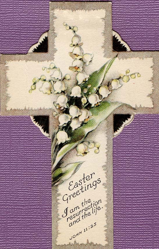 #Easter #cross #flowers