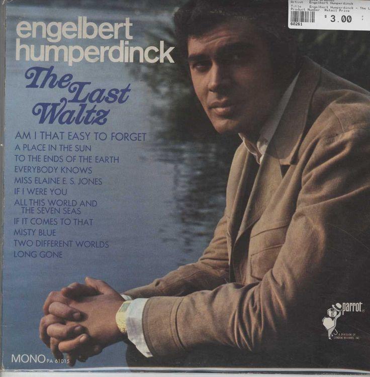 Engelbert Humperdinck The Last Waltz The Last Waltz Waltz Songs