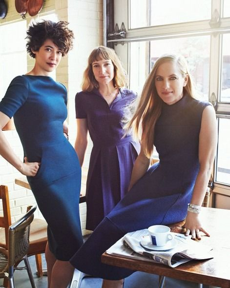 Women in Clothes — The editors photographed for Glamour magazine...