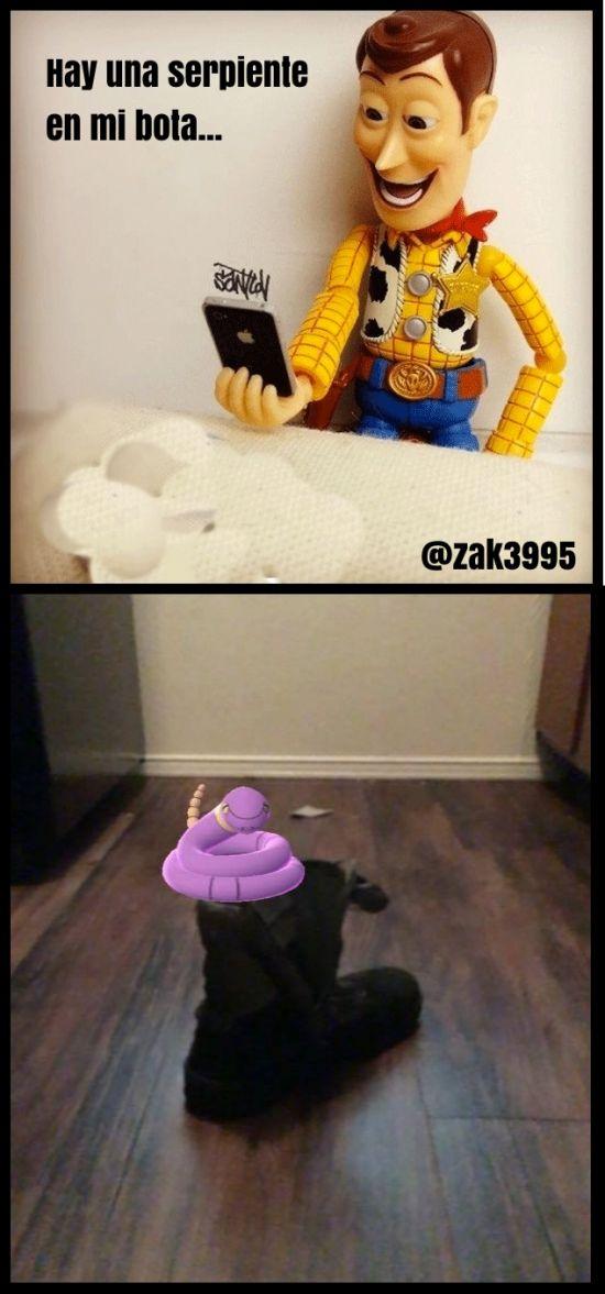 Toy Story Go Gracias a http://www.cuantocabron.com/ Si quieres leer la noticia completa visita: http://www.estoy-aburrido.com/toy-story-go/