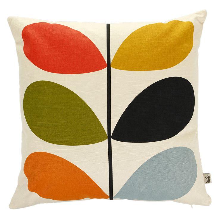 Discover the Orla Kiely Multi Stem Cushion - 45x45cm at Amara