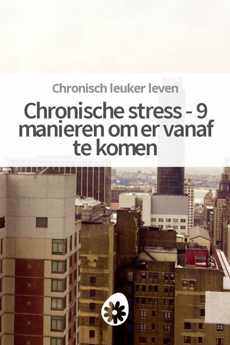 Heb je vaak last van stress? Ontdek 9 praktische manieren om van je stress af te komen.