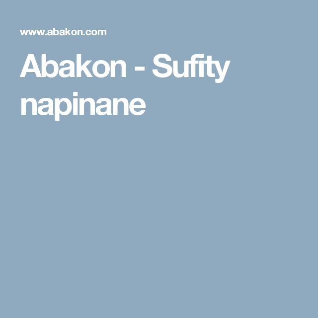 Abakon - Sufity napinane