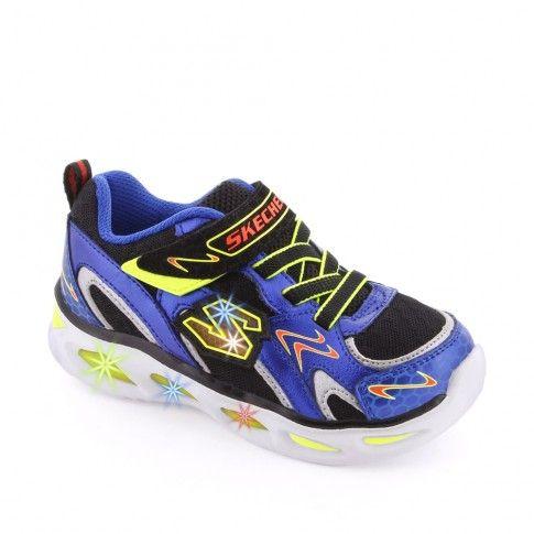 Pantofi sport baieti Ipox Rayz Blue - Skechers