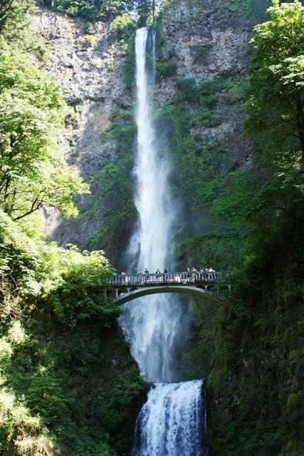 Multnomah falls. Multnomah FallsTwilight