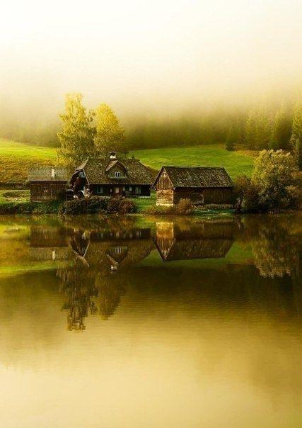 Уютные домики у озера в Штирии, Австрия - Путешествуем вместе