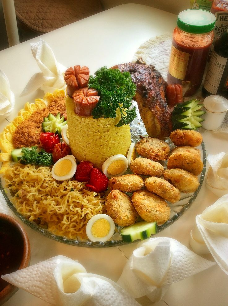Yellow Nasi / Rice Tumpeng